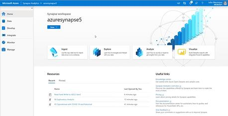 Azure Synapse Analytics - Screenshot 2